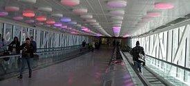 Indianapolis Airport walkaway