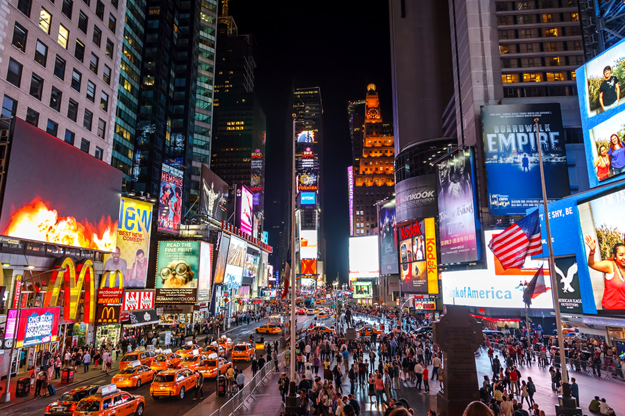 Touring new york city top attractions things to do for Times square new york things to do