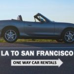 One way car rental from Los Angeles to San Francisco