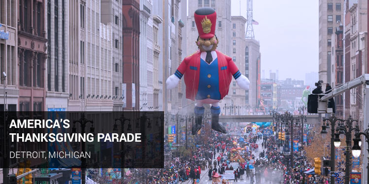 America's Hometown Thanksgiving Parade, Plymouth, Massachusetts