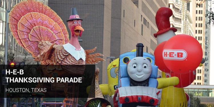 H-E-B Thanksgiving Parade, Houston, Texas