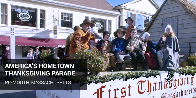 America's Hometown Thanksgiving Parade, Plymouth, Massachusetts&