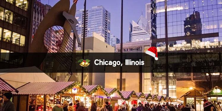 Chicago, Illinois christmas