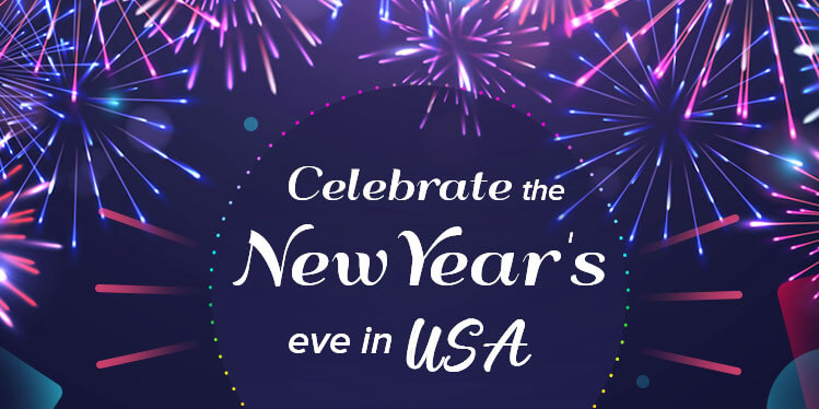 Celebrate the new year's eve in usa