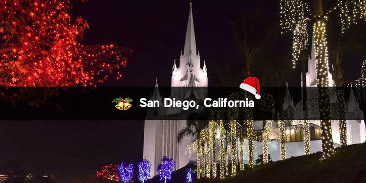 San Diego, California christmas