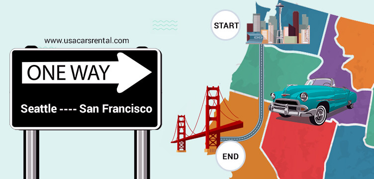 One Way Car Rental Seattle To San Francisco
