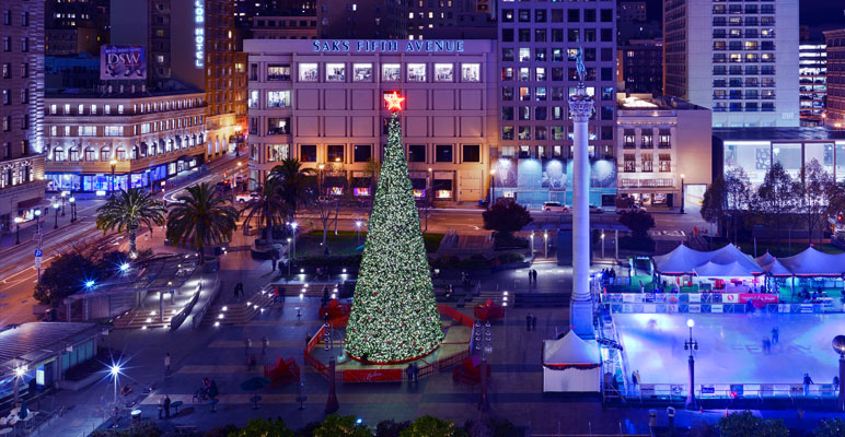 Things to do in San Francisco on Christmas Day