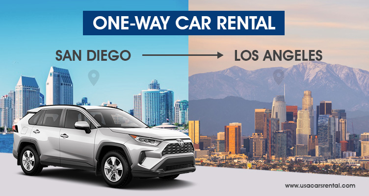 One Way Car Rental San Diego to LA